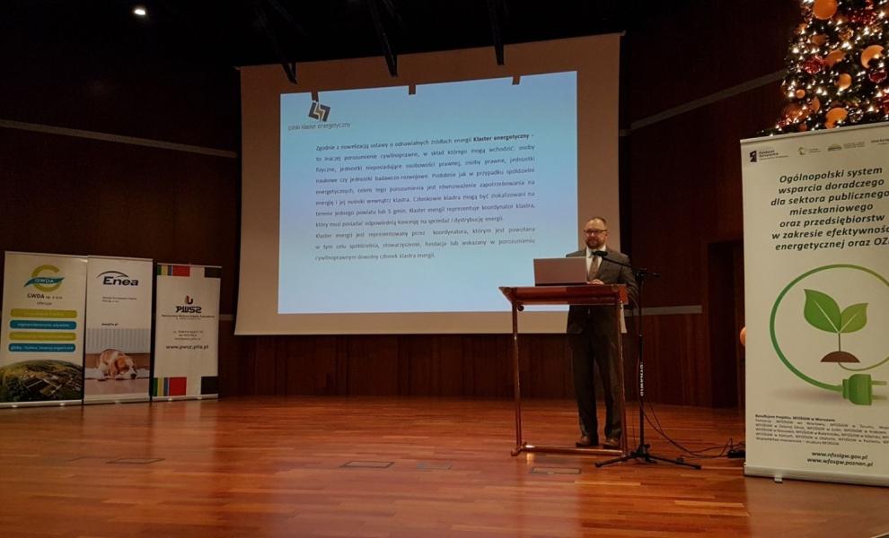 GWDA na konferencji dot. Projektu Doradztwa Energetycznego