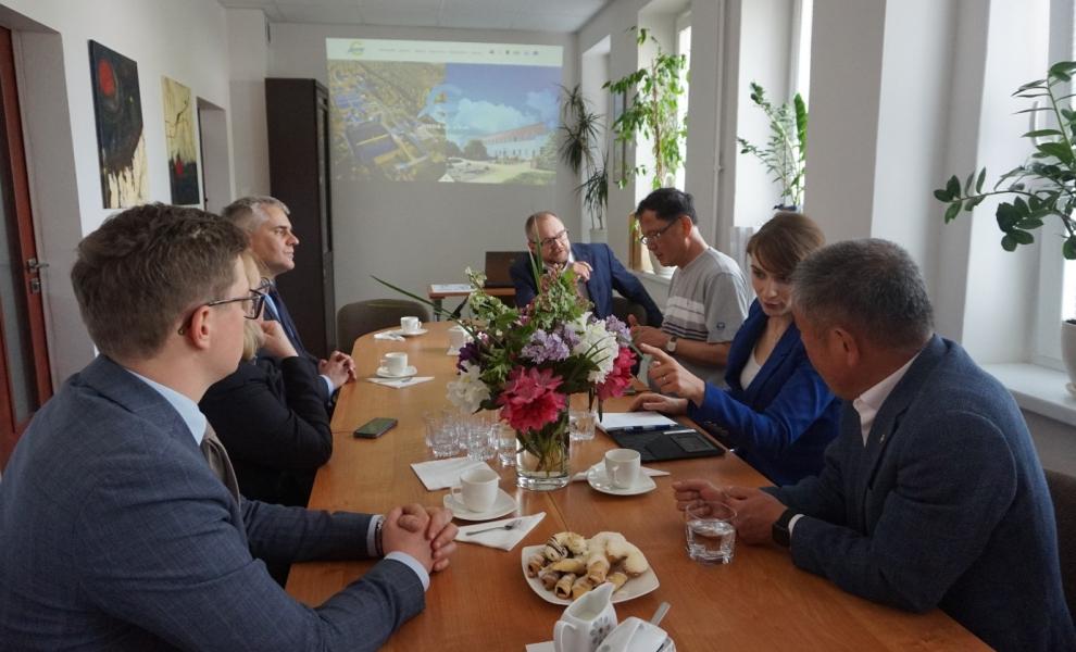 Przyjmowaliśmy delegację z Korei
